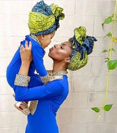Choose from the best and beautiful matching African ankara styles for mother and daughter. These ankara styles are meant for stunning mother and daughter African Attire, African Wear, African Dress, African Fashion, African Style, Ankara Fashion, African Women, Mode Turban, African Accessories