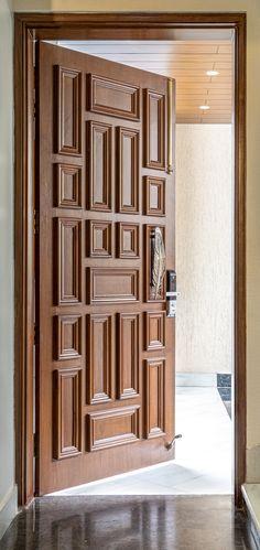 Single Main Door Designs, House Main Door Design, Main Entrance Door Design, Home Door Design, Wooden Front Door Design, Double Door Design, Door Design Interior, Modern Wooden Doors, Wooden Double Doors