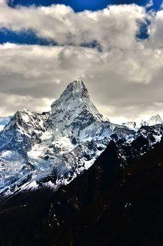 Ama Dablam Mountain | Nepal (by Allyson Farran)