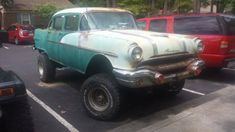 Tall Track? 1956 Pontiac 4 x 4 Sedan #USA - https://barnfinds.com/tall-track-1956-pontiac-4-x-4-sedan/