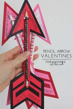 Pencil Arrows Card