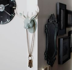Jack D. Jackalope Wall Hooks by imm Living
