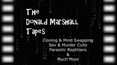 The Donald Marshall Tapes