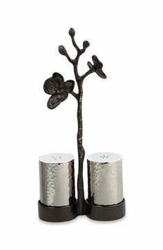 kind of obsessed with this black orchid line by Michael Aram...