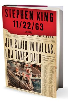 On November 22, 1963, three shots rang out in Dallas, President Kennedy died, and the world changed. What if you could change it back? Stephen King's heart-stoppingly dramatic new novel is about a man who travels back in time to prevent the JFK assassination—a thousand page tour de force.