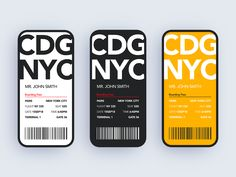 Boarding Pass Design by Charles Postiaux Page Design, Ui Design, Layout Design, Media Design, Wireframe Design, Ticket Design, Music App, Application Design, Screen Design