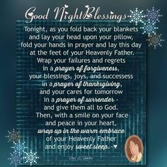 Good Night Blessings Quotes, Good Night Quotes, Good Evening Wishes, Good Night Wishes, Evening Greetings, Sleep Prayer, Prayer For Mothers, Good Night Prayer, Morning Quotes Images