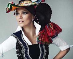 Kate Moss -Vogue París
