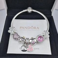 >>>Pandora Jewelry OFF! >>>Visit>> NEW pandora charm bracelet with charms/golden head clasp - Xingjewelrypandora charms pandora rings pandora bracelet Fashion trends Fashion designers Casual Outfits Street Styles Women's fashion Runway fashion New Pandora Charms, Pandora Jewelry Box, Pandora Bracelet Charms, Cartier Bracelet, Bracelet Watch, Jewelry Watches, Diy Jewelry To Sell, Cute Jewelry, Charm Jewelry