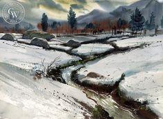 Ralph Hulett (1915-1974) - Mammoth Valley