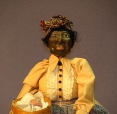 Harriet Tubman Black History Month Primitive styled doll. $35.00 starting bid!