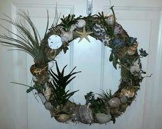 Living cactus wreath