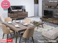 Napoli Yemek Odası keyifli akşam yemeklerinizin misafiri olmaya geliyor! 👍😄 #Modern #Furniture #Mobilya #Napoli #Yemek #Odası #Sönmez #Home Ayrıntılı Bilgi İçin : https://goo.gl/Avszsc