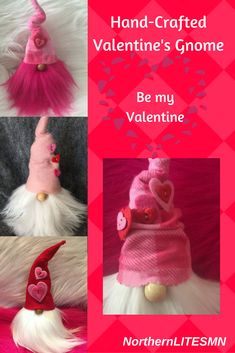 These 7 inch mischievous gnomes are looking for a valentine! Oliver, Dewey, Arrow and Ezra each come with their own style and personality. The beards can be groomed for sophistication or fun!