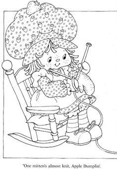 Coloring Book~Strawberry Shortcake's Winter Fun Coloring Book - Bonnie Jones - Picasa Web Albums