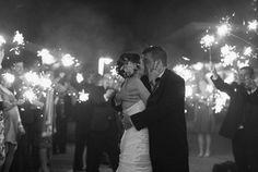 Sparkler Exit Maine wedding by Fidelio Photography