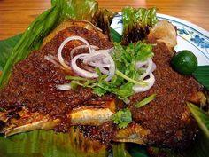 BBQ Seafood Sambal ~ Singapore Food | Recipes