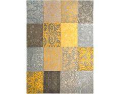 Dywan Vintage Patchwork (żółty) - Yellow 8084