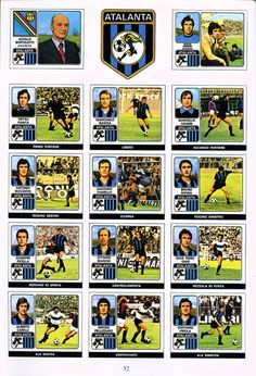 Football, Album, Baseball Cards, Vintage, Football Team, Picture Cards, Italia, Places, Soccer