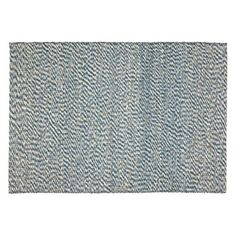 Check out this item at One Kings Lane! Apex Sisal Rug, Blue/Ivory