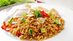 Fried Rice Recipe special fried rice recipe for roadside fried rice seasoning fried rice recipe Fried Rice Recipe rice is food fried rice recipe paste fried rice recipe Nasi Goreng, Arabic Chicken Recipes, Asian Recipes, Ethnic Recipes, Special Fried Rice Recipe, Fried Rice Seasoning, Making Fried Rice, Cooking, Thermomix