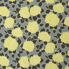 Desire Yellow Floral Wallpaper R1064