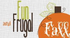 Loads of Fun Fall Crafts + Easy Fall Recipes!!  ~ from TheFrugalGirls.com