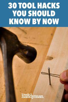 Painting Trim, Painting Tools, House Painting, Driveway Markers, Yard Sale Signs, Home Workshop, Workshop Storage, Broom Handle, Shop Organization