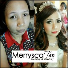 Before meet after for my bride... @merrycatan_bridal