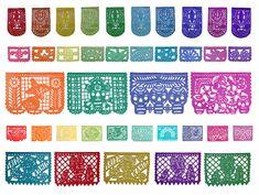 El papel picado es una decoración típica de nuestro país. El origen de este trabajo viene de la cultura china. En la Europa del sig...