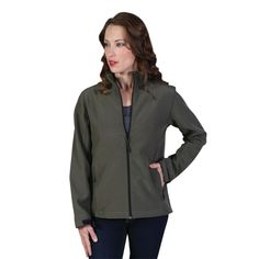 Show details for Ladies Classic Softshell Jacket Softshell, Bomber Jacket, Athletic, Zip, Lady, Classic, Jackets, Fashion, Derby