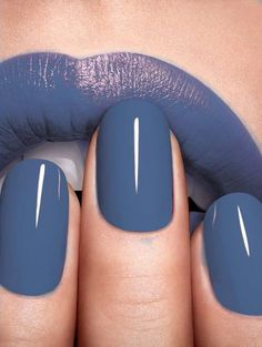 Love this color with a matte top coat