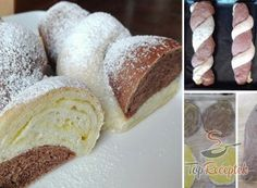 | TopReceptek.hu Czech Recipes, Hungarian Recipes, Bread And Pastries, Sweet And Spicy, Creative Cakes, Butter, No Bake Cake, Vanilla Cake, Cake Recipes