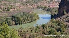 Rio Cabriel a su paso por Cofrentes