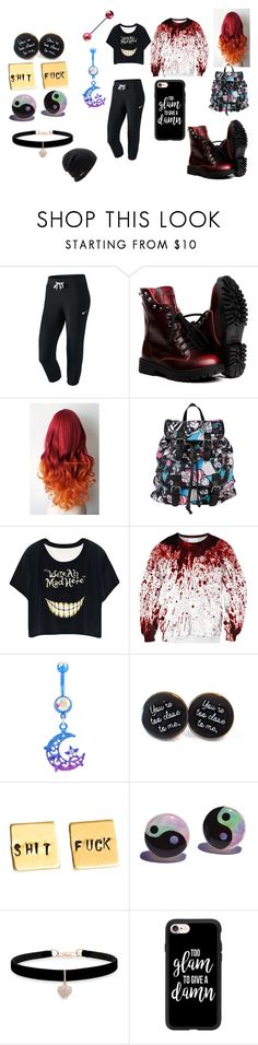 """""""Lazy School Day"""" by country-girl-forever-music on Polyvore featuring NIKE, Disney, Betsey Johnson, Casetify and Coal"""