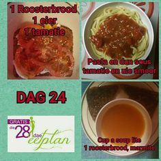 dag 24 28 Dae Dieet, Health Diet, Health Fitness, Dieet Plan, 28 Day Challenge, Marmite, Dash Diet, Diet Recipes, Diet Meals