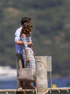 Olivia Palermo y Johaness Huebl, enamorados en Saint Tropez