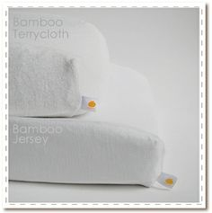 Baby Booty Bamboo Barrier (diaper changing pad cover) -Bamboo's germ fighting properties keep baby's diaper table naturally clean and fresh. Fits standard and contour shaped diaper pads. Choose between bamboo terrycloth and bamboo jersey ($25)