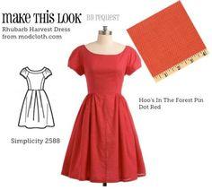 (via - The Sew Weekly Sewing Blog  Vintage Fashion Community)