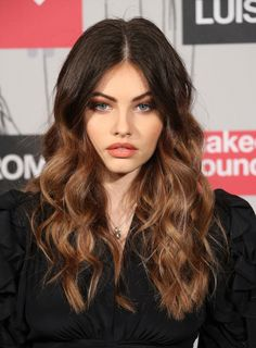 'Most beautiful girl in the world' Thylane Blondeau channels 80s chic at LFW