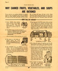 U.S.: Why canned fruits, vegetables, and fruits are rationed