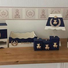 Baby Nursery Decor, Baby Bedroom, Kit Bebe, Baby Boy, Baby Favors, Fabric Boxes, Baby Room Design, Decoupage Art, Diy Box
