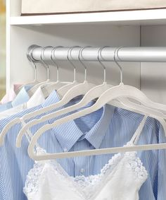 Love these hangers! I have a bunch of them - such a great price at 84 cents each, too, at #Zulilly