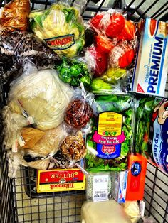 how to cut out processed foods and save money! Love the grocery list break down on here!