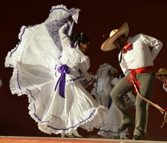 Beautiful Folklorico Couple