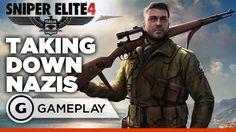 Sniper Elite 4 - Solo Mission Gameplay
