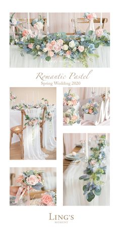 Romantic pastel floral garland for spring wedding 2020 10 off first order spring wreath wedding wreath modern wreath shabby chic wreath year round wreath elegant peonny wreat Spring Wedding Colors, Spring Colors, Peach Wedding Theme, Wedding Themes For Spring, Lilac Wedding Themes, Vintage Pastel Wedding, Elegant Wedding Colors, Pastel Wedding Colors, Popular Wedding Colors