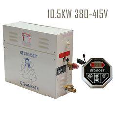 Free shipping Ecnomic model 10.5KW 380-415V Steam Generator Sauna Bath Steamer with ST-135 Controller sauna accessories heater