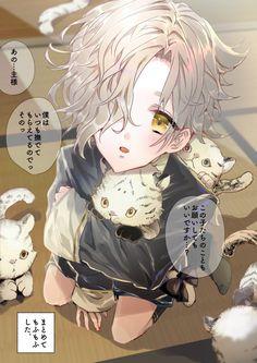 Touken Ranbu, Manga, Twitter, Anime, Characters, Shopping, Manga Anime, Figurines, Manga Comics