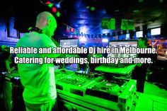 The #dj city Melbourne Company has the ideal dj for your wedding and other #events. So, for your interest ensure you hire the best djs through our company.